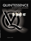 Journal Quintessence Int. Bulgaria, issue 1/2013