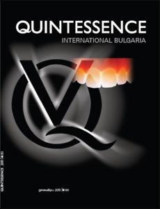 Quintessence Int. Bulgaria 4/2013