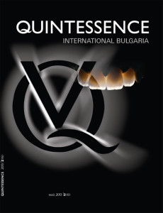Quintessence International Bulgaria, cover, issue 2-2013