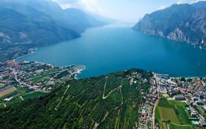 изглед от Monte Baldo